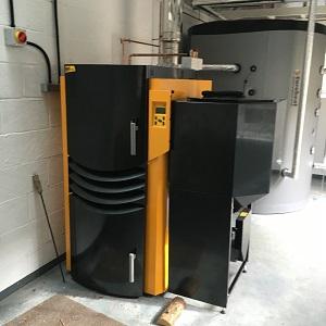 Sarsen energy Biomass Boiler